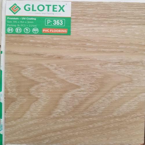 Sàn nhựa dán keo 3mm Glotex - 363