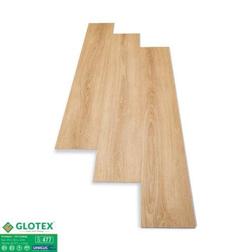 Sàn nhựa hèm khóa 4mm Glotex - 477